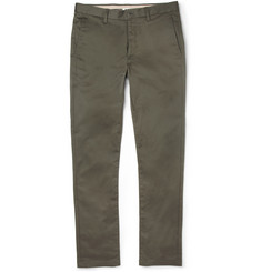 Acne Roc Slim-Fit Cotton-Blend Trousers