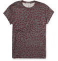 Acne Studios - Animal-Print Cotton-Jersey T-Shirt