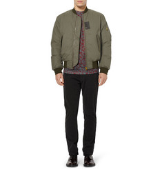 Acne Sid Down-Filled Cotton-Blend Bomber Jacket