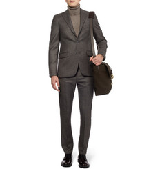 Acne Studios Drifter Slim-Fit Check Wool Blazer