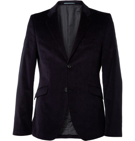 Acne Studios Wall Street Slim-Fit Corduroy Suit Jacket