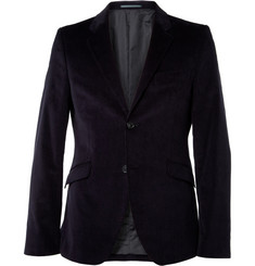 Acne Wall Street Slim-Fit Corduroy Suit Jacket
