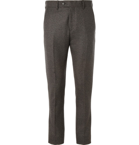 Acne Studios Drifter Slim-Fit Check Wool Suit Trousers
