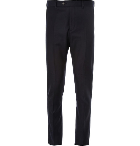 Acne Studios Drifter Slim-Fit Pindot Wool Suit Trousers