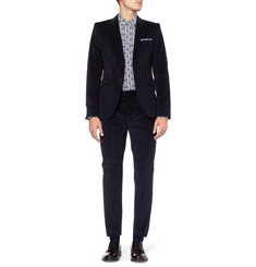 Acne Wall Street Slim-Fit Corduroy Suit Trousers