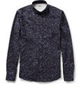 Acne Studios Isherwood Leopard-Print Cotton Shirt