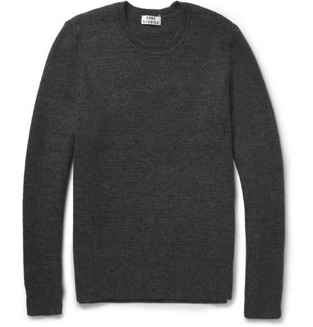 Acne Studios Cusco Wool and Alpaca-Blend Sweater