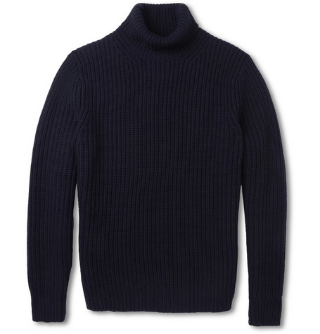 Acne Studios Miles Chunky-Knit Wool Rollneck Sweater