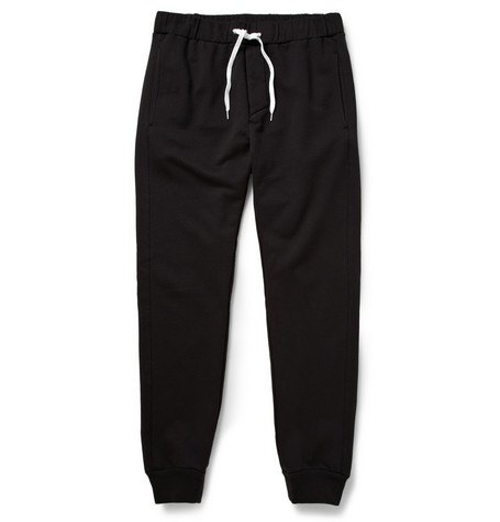 Acne Studios Fred Loopback Cotton-Blend Sweatpants