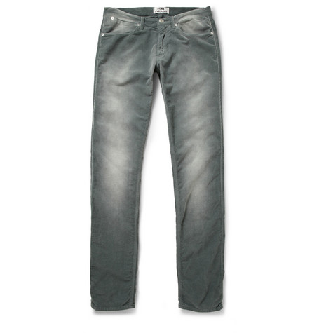 Acne Max Faded Corduroy Trousers