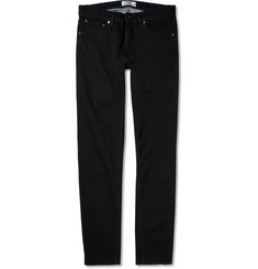 Acne Ace Sing Slim-Fit Overdyed Washed-Denim Jeans
