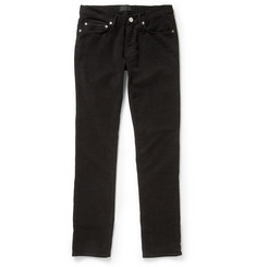 Acne Vega Brushed Stretch-Cotton Jeans