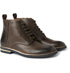 Maison Martin Margiela Brushed-Leather Boots