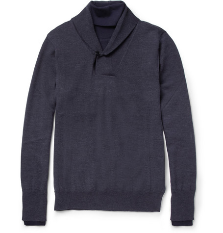 Maison Martin Margiela Layer-Effect Wool Sweater