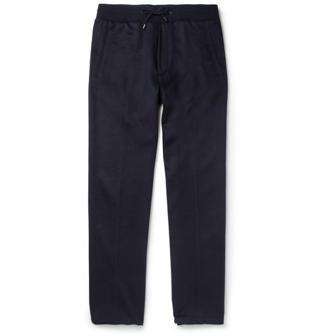 Maison Martin Margiela Loose-fit Cashmere Drawstring Trousers