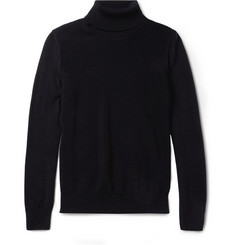 Maison Martin Margiela Knitted-Wool Rollneck Sweater