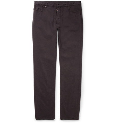 Maison Martin Margiela Slim-Fit Cotton and Cashmere Jeans