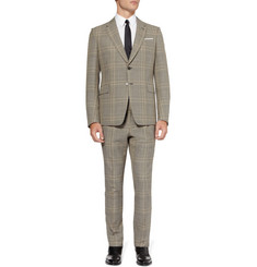 Valentino Grey Prince of Wales Check Wool Suit