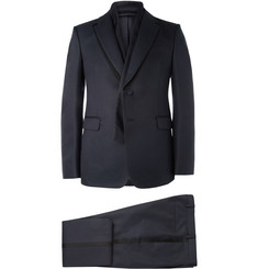 Valentino Blue Wool and Silk-Blend Tuxedo