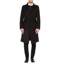 Ann Demeulemeester Slim-Fit Brushed Coat