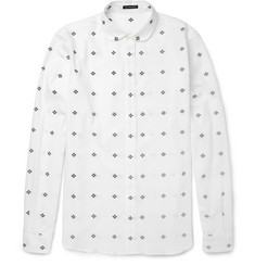 Ann Demeulemeester Printed Cotton Shirt