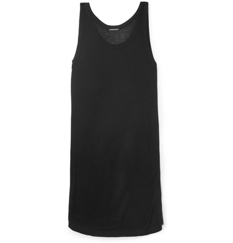 Ann Demeulemeester Long Ribbed Vest