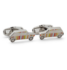 Paul Smith Shoes & Accessories Striped Car Cufflinks
