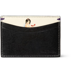 Paul Smith Shoes & Accessories Printed Leather Card Holder