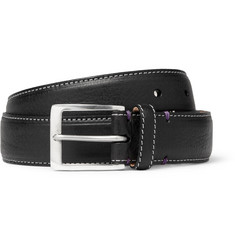 Paul Smith Shoes & Accessories Lady Print-Lined Leather Belt