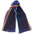 Paul Smith Shoes & Accessories Striped Wool Scarf