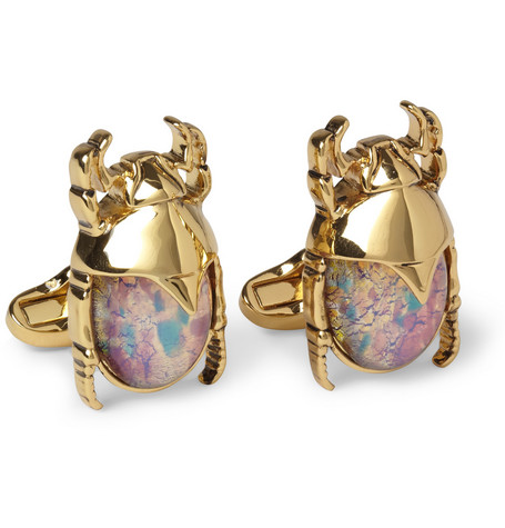 Paul Smith Shoes & Accessories Metal Beetle Cufflinks