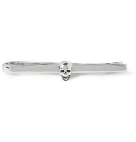 Paul Smith Shoes & Accessories Skull Metal Tie Clip