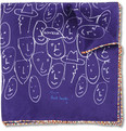 Paul Smith Shoes & Accessories - Printed Fine-Silk Pocket Square
