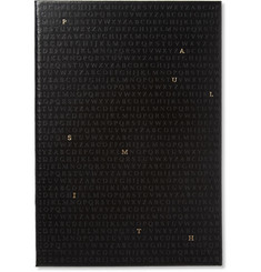 Paul Smith Shoes & Accessories Alphabet Leather Notebook