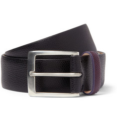 Paul Smith Shoes & Accessories Pebble-Grain Leather Belt