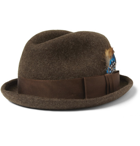 Paul Smith Shoes & Accessories Wool-Felt Trilby Hat