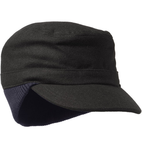 Paul Smith Shoes & Accessories Quilted Melton Wool Cap