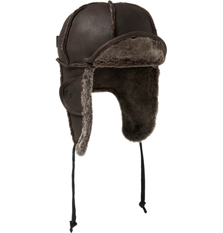 Paul Smith Shoes & Accessories Shearling Trapper Hat