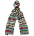 Paul Smith - Striped Knitted Scarf