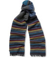 Paul Smith Shoes & Accessories Striped Wool-Blend Scarf