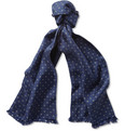 Paul Smith - Reversible Printed Wool and Silk-Blend Scarf
