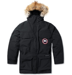 Canada Goose Expedition Coyote-Trim Parka Jacket