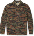 A.P.C. Camouflage-Print Cotton-Canvas Lightweight Jacket