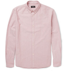 A.P.C. Button-Down Collar Cotton Oxford Shirt