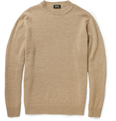 A.P.C. Camel Crew Neck Sweater
