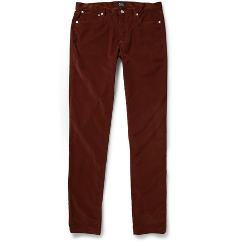 A.P.C. Petit Standard Regular-Fit Corduroy Trousers