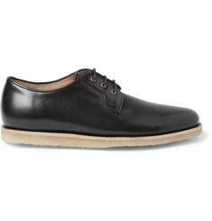 A.P.C. Crepe-Soled Leather Derby Shoes