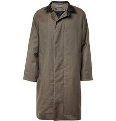 Christophe Lemaire Cotton and Wool-Blend Coat