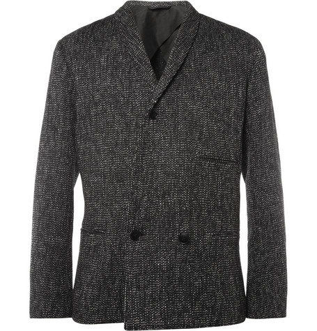 Christophe Lemaire Unstructured Flecked Wool Blazer