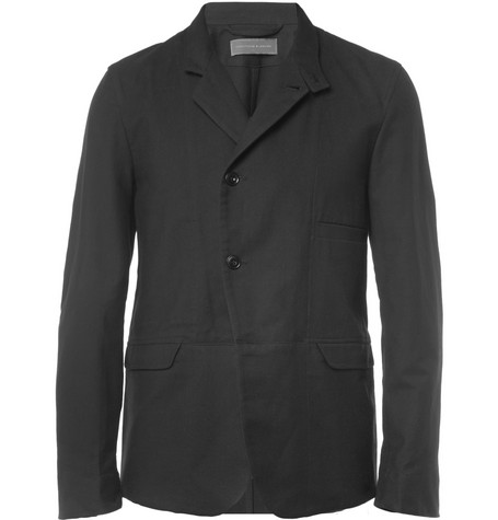 Christophe Lemaire Cotton and Wool-Blend Suit Jacket